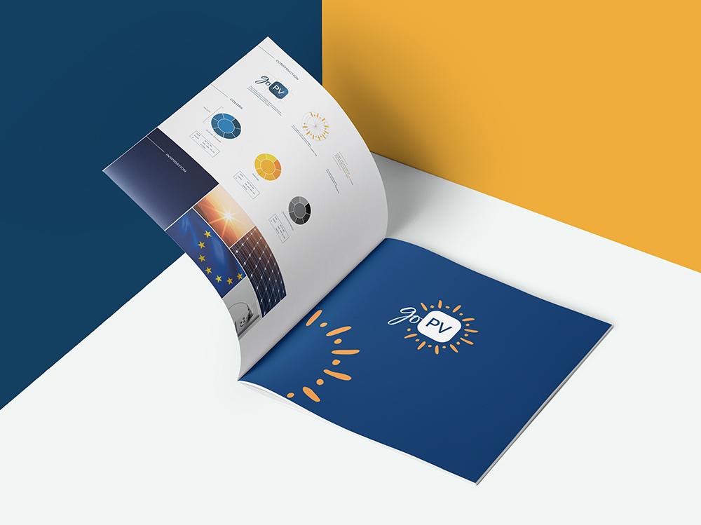 Création graphique de brochure pour Ines Savoie