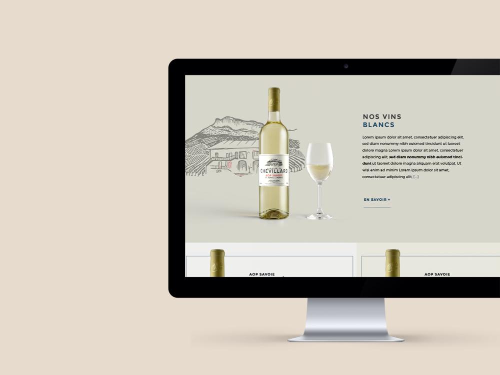 site internet responsive domaine Chevillard Savoie